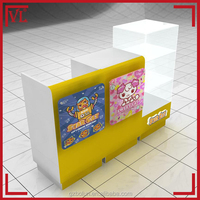 Cute baby store sales cashier counter furniture designs