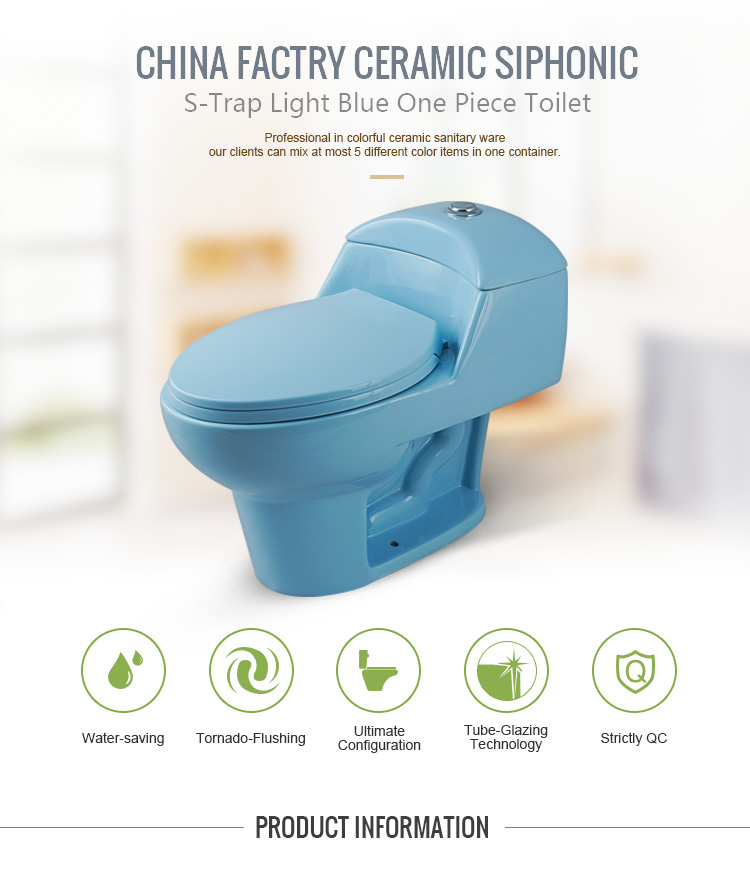 Hot Sale Econormic Ceramic Top Button Dual Flushing One Piece Toilet