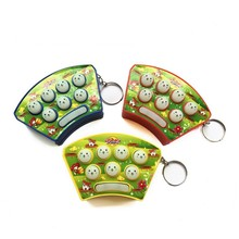 Hot Sale Classic Electric Whack A Mole Game Toy Mini Handheld Games Key Chain