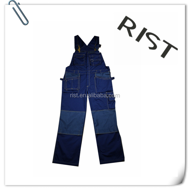Wholesale Custom Men Waterproof Camouflage Workwear Bib Pants
