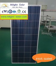 China solar energy (135W solar panel) with high conversion efficiency for home use