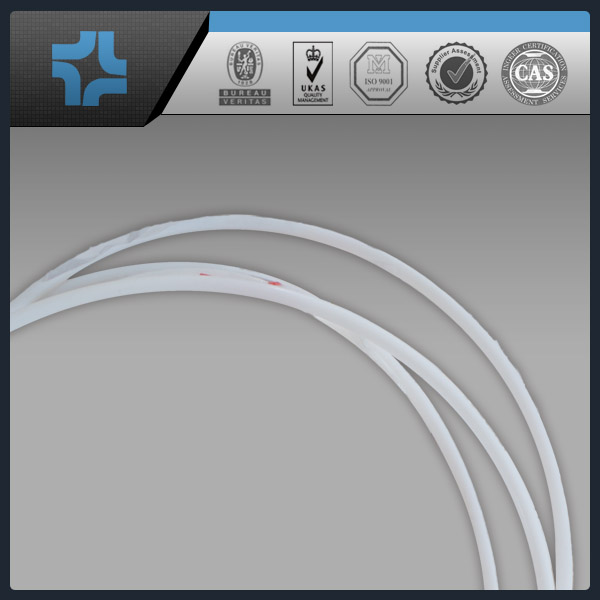 white transparent ptfe capillary tube
