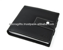 ADACD - 0035 dvd hard leather case / custom new leather cd dvd holders / custom leather design dvd cases