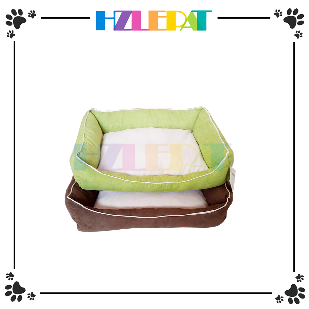 Wholesale low price Eco-friendly nasolabial fold wicker pet bed