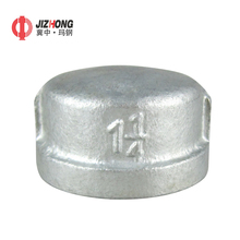 Galvanized Banded Tube Connection Malleable Iron Pipe Fittings Cap