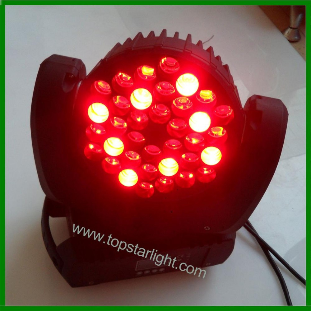 2017 new products hot sale grace stage light DMX RGB 36*<strong>3w</strong> light beam moving head light