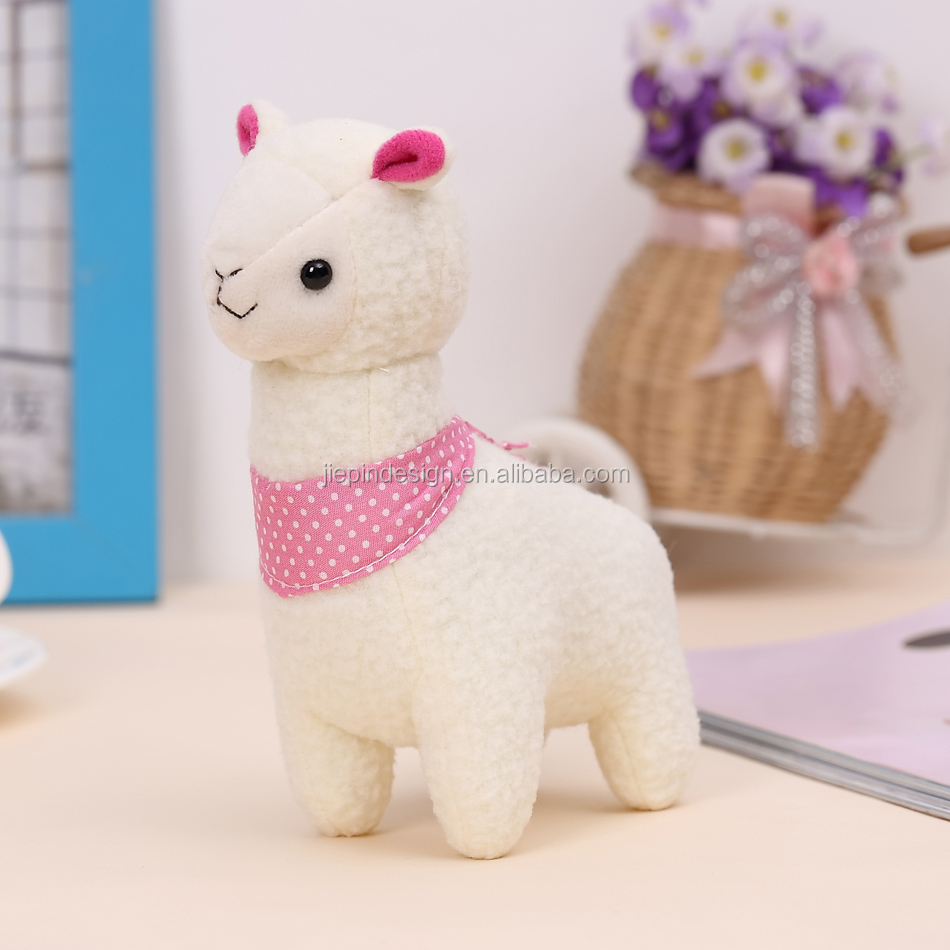 Wholesale lovely alpaca pendant plush toys for crane machines