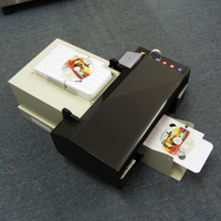 auto inkjet pvc card/CD/DVD printer with 50pcs CD/card tray for free