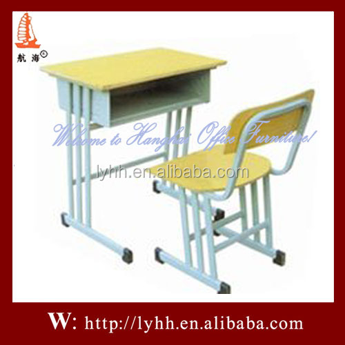 China furniture gujranwala school desk with bench ,school desk and chair