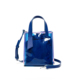 Laser iridescence handbag female beach PVC transparent jelly tote bag