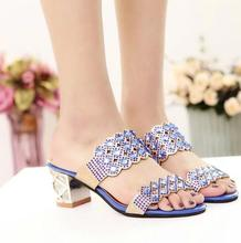 zm50103b summer women hot sell kitten heel shoes comfortable ladies shoes sandal