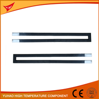 electric furnace heating element Silicon Carbide heating,SiC heater U shape