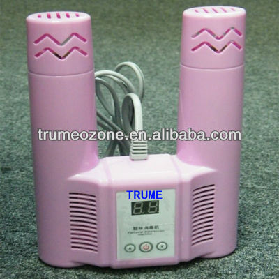 small portable killing bacteria shoes dryer with ozone generator