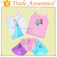 Frozen Princess Children Vest Underwear