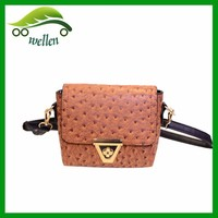 Fashion Personalized Ostrich Shoulder Bag