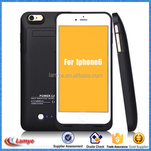 MFI certified phone battery charge case for iPhone 6, Battery Case for iPhone 6, Power Bank Case for iPhone 6