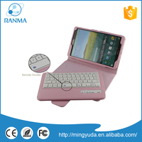 Detachable Wireless tablet keyboard case for samsung