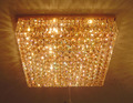 Luxury home lighting Crystal chandelier and ceiling fixtures VOL