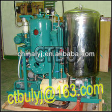 Waste centrifugal oil cleaning system