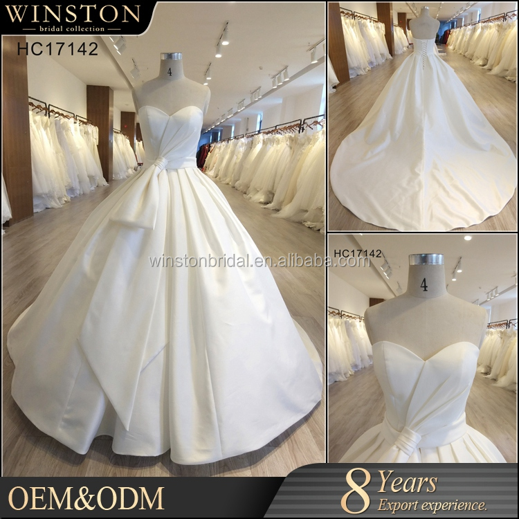 China factory OEM guangzhou wedding dress with prices