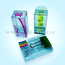 China custom clear plastic pvc box,pvc box packing
