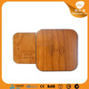 Good quality factory price round wood qi wireless charger sticker
