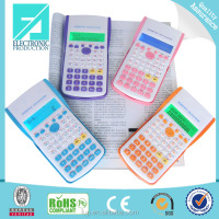 Fupu wholesale 2 line display scientific calculator with backlight