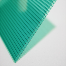 HOLLOW type poly carbonate sheets 6mm,sun plastic sheets for roofing
