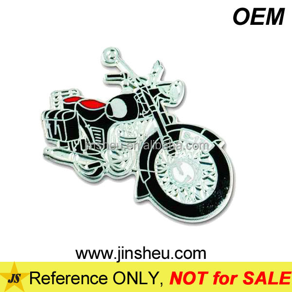 Wholesale Cheap Custom Metal Biker Badge Lapel Pin Motorcycle