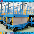 12m electric /diesel/battery power hydraulic scissor lift