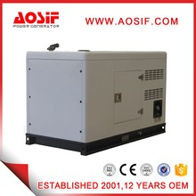 Aosif 30kw soundproof generator for home 50hz slient genset with Cummins series for sale