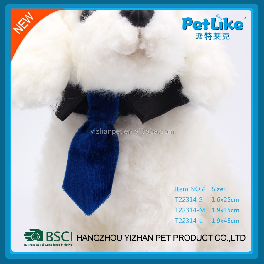 Good quality OEM accept Adjustable Polyester pet bowl tie