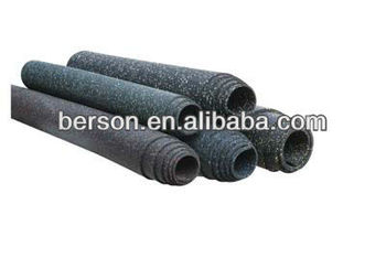 rubber gym flooring for CrossFit gyms, gym mat,commercial EPDM rubber gym flooring