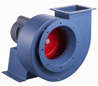 2015 Factory direct supply high pressure single stage backward multi blade centrifugal fan for Industrial ventilation