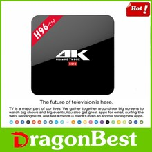 tv tuner box ott H96 Pro Amlogic S912 2g ram 16g rom octa core android 6.0 tv box Kodi17.0