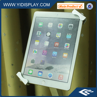 Metal locking anti-theft holder for display ipad tablet on shelf/shopping/payment