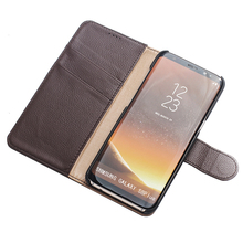 Leather case for galaxy s8 case for samsung s8 wallet flip case