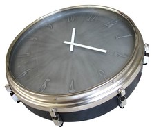 outdoor metal clock/metal floor clock/neon wall clock