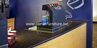 CORIAN coffee bar counters for sale/bar table for coffee