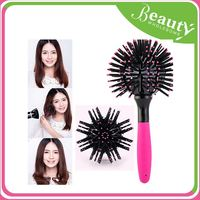 Wholesale 3d sublimation blank lady comb,H0T012 custom printing hair brush
