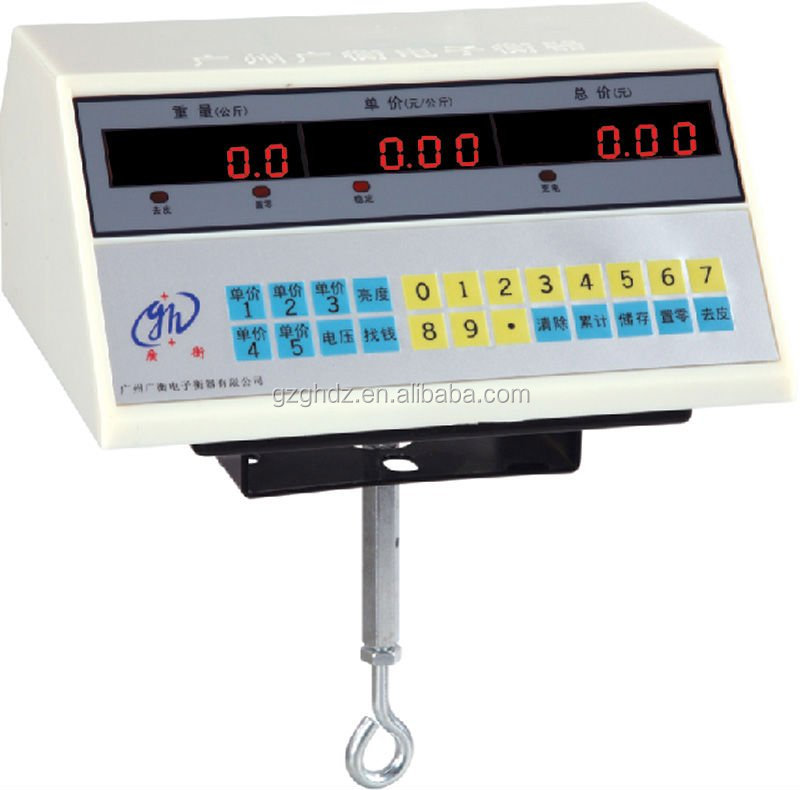 wholesale price weighing controller indicator / 100KG price par of weigjing platform scale