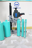"80mm 1500W 3.5"" Diamond Concrete Core Drill machine Wet and Dry Stand fits Diamond Bit drill"