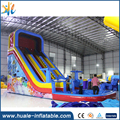Ocean theme inflatable water slide party inflatable slide with swimming pool slide n pool combo