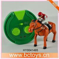 Hot sale kids racing game RC toy race horse HY0041495
