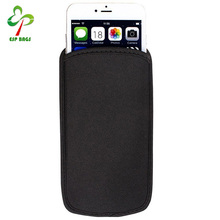 Universal neoprene shock absorbing cell phone case, sleeve cell phone covers, simple cell phone case packaging