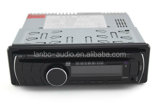 Hot sale remote control universal detachable panel one din car dvd car audio speakers