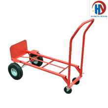 Platform folding 4 wheel hand trolley
