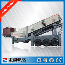 ZONEDING Mobile Crusher Price, Widely Used in Stone and Ore Crushing