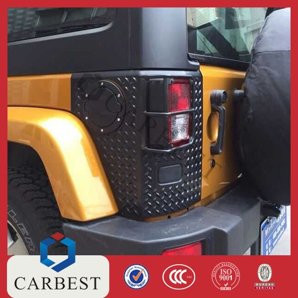 High Quality ABS Tail Lamp Cover for 2014 Jeep Wrangler