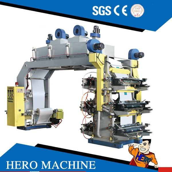 HERO BRAND drum flexographic printing machine